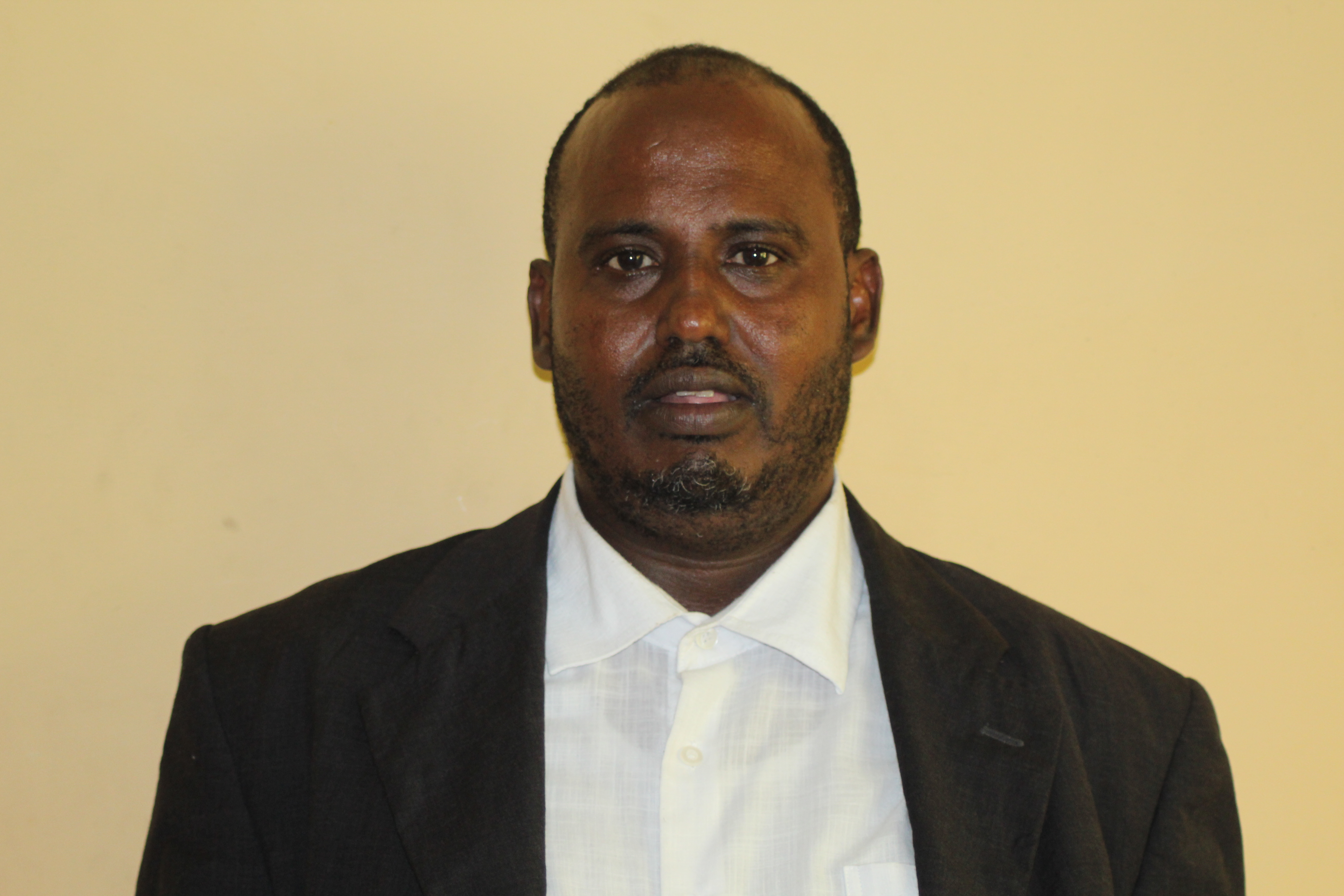 Somali Football Federation Medical committee Secretary General Dr Khaliif Yousuf Sabrie